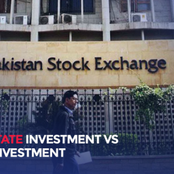 REAL ESTATE INVESTMENT VS STOCK INVESTMENT