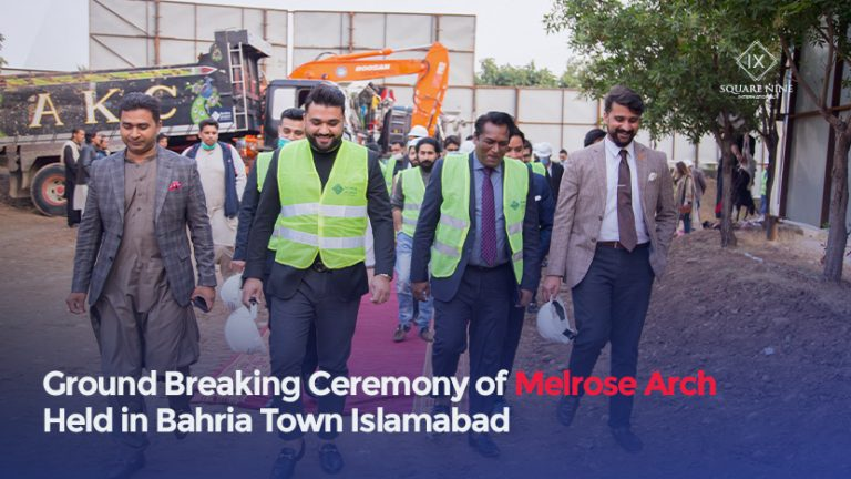 Read more about the article GROUND BREAKING CEREMONY OF MELROSE ARCH HELD IN BAHRIA TOWN ISLAMABAD