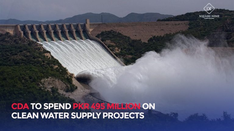Read more about the article CDA TO SPEND PKR 495 MILLION ON CLEAN WATER SUPPLY PROJECTS