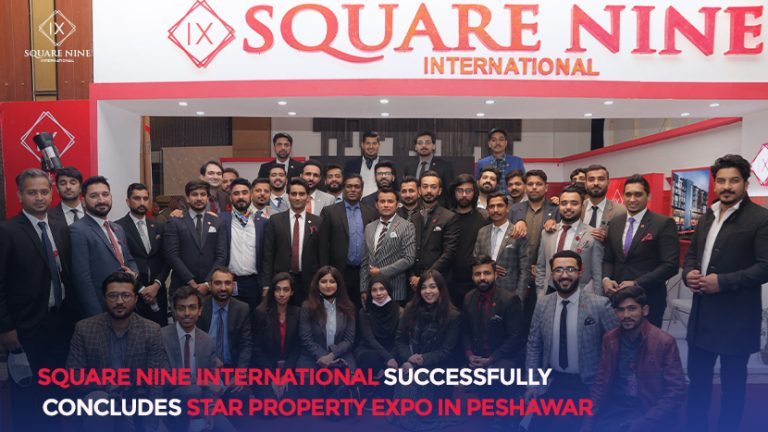 Read more about the article SQUARE NINE INTERNATIONAL SUCCESSFULLY CONCLUDES STAR PROPERTY EXPO IN PESHAWAR