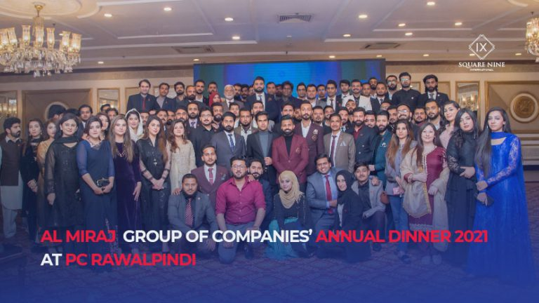 Read more about the article AL MIRAJ GROUP OF COMPANIES' ANNUAL DINNER 2021 AT PC RAWALPINDI